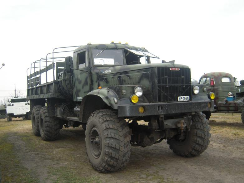 Military Technics Kraz 255 Open Version