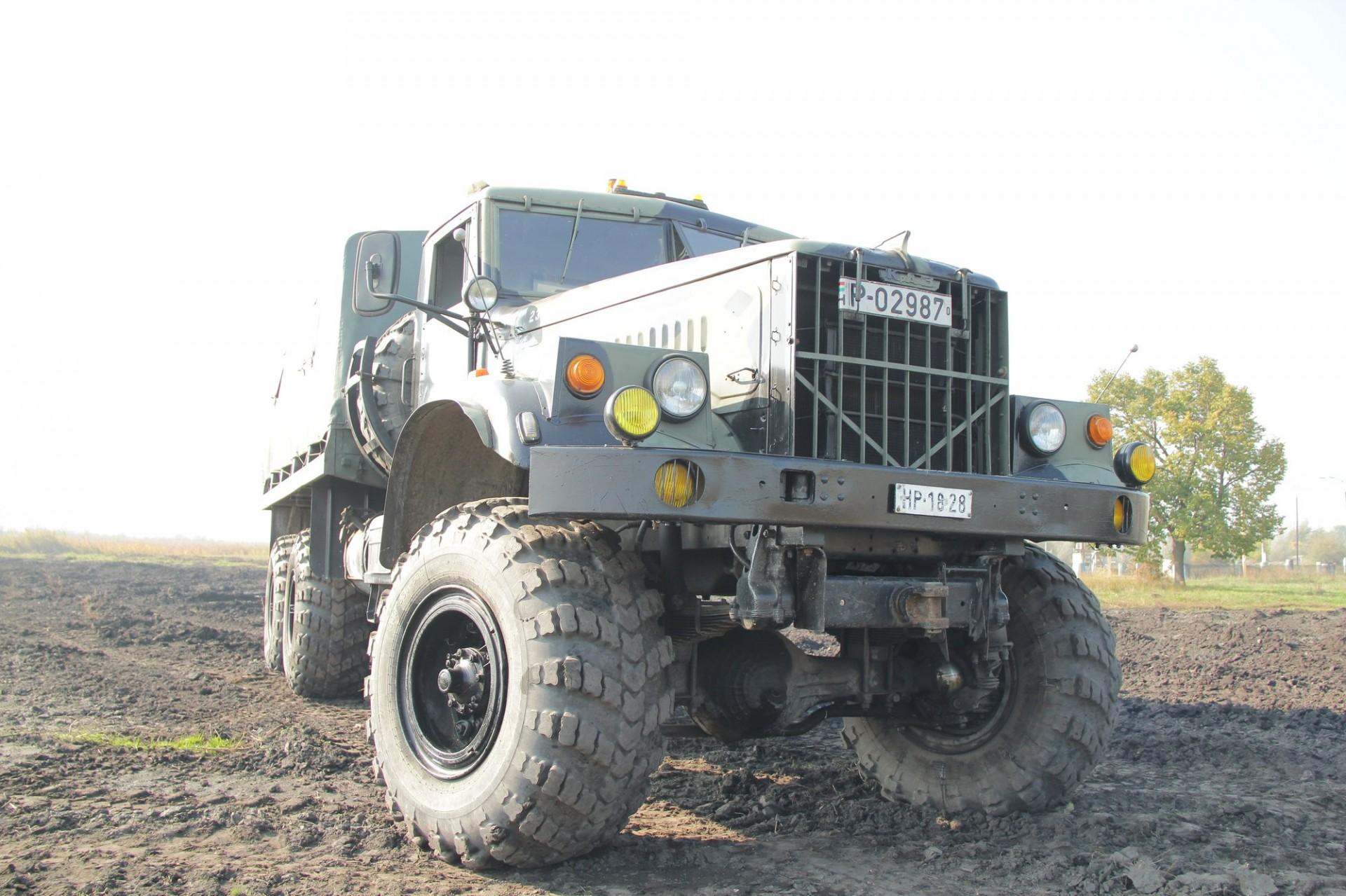 Used Trucks For Sale In Ky >> Military Technics :: Kraz 255 (open version)