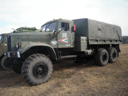 Kraz 255 (open version)