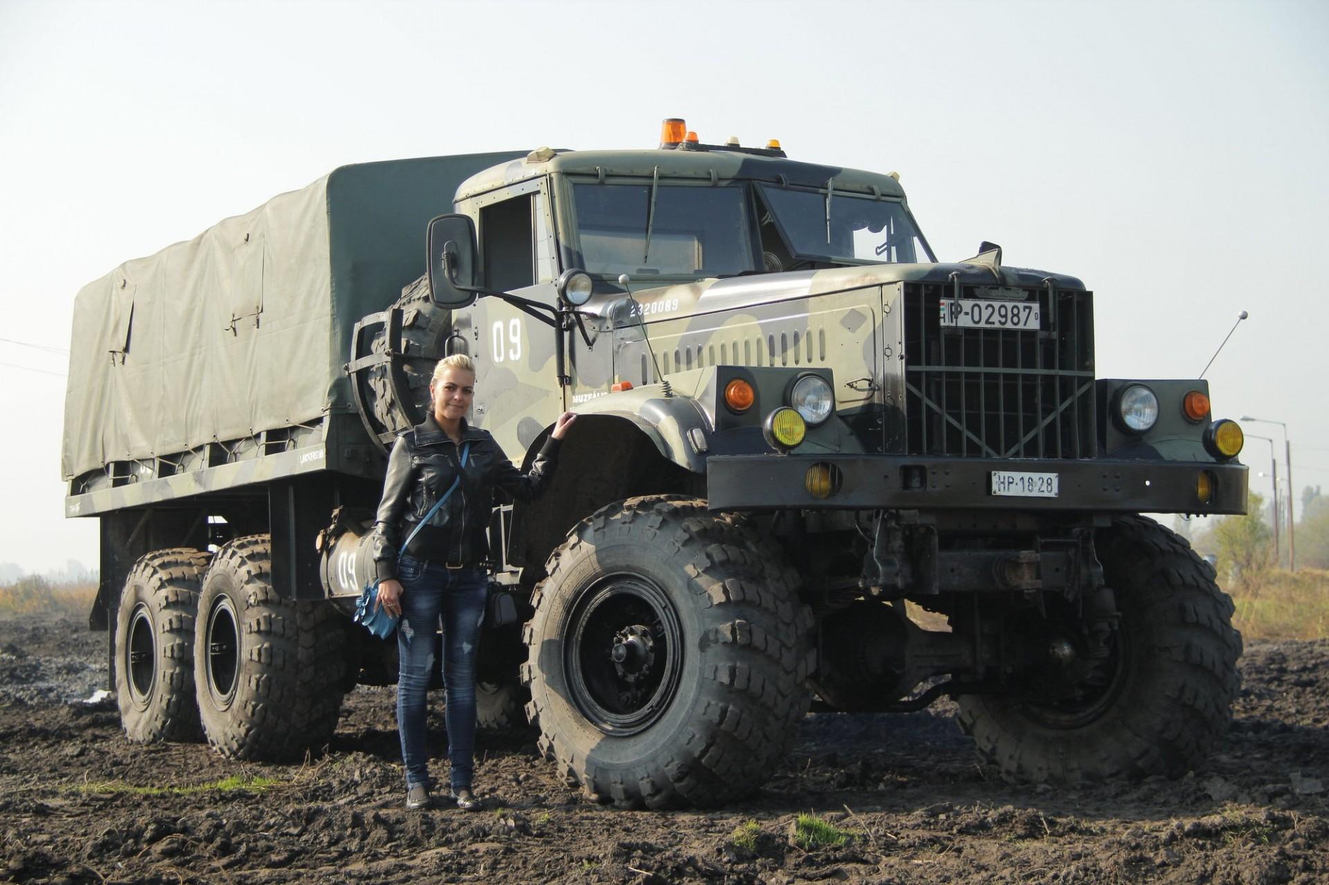 Military Vehicles For Sale >> Military Technics :: Kraz 255 (open version)